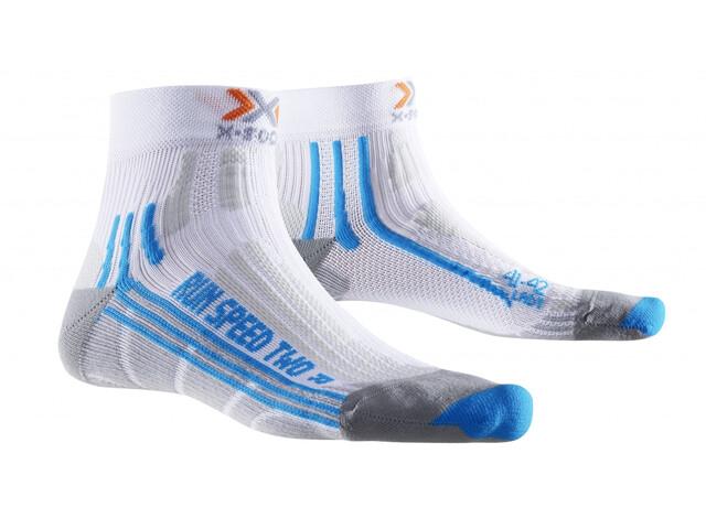 X-Socks W's Run Speed Two Socks White/Turquoise